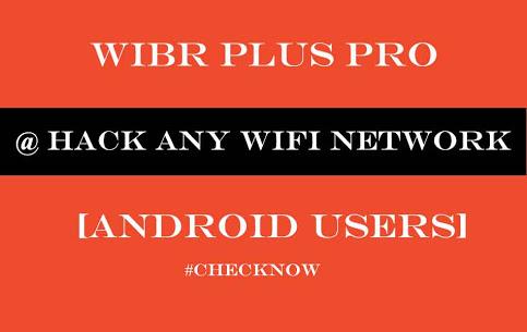 Wibr wifi bruteforce hack apk download